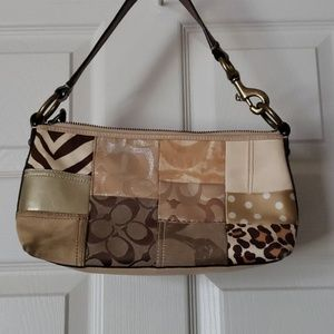 Coach bag with patch detail